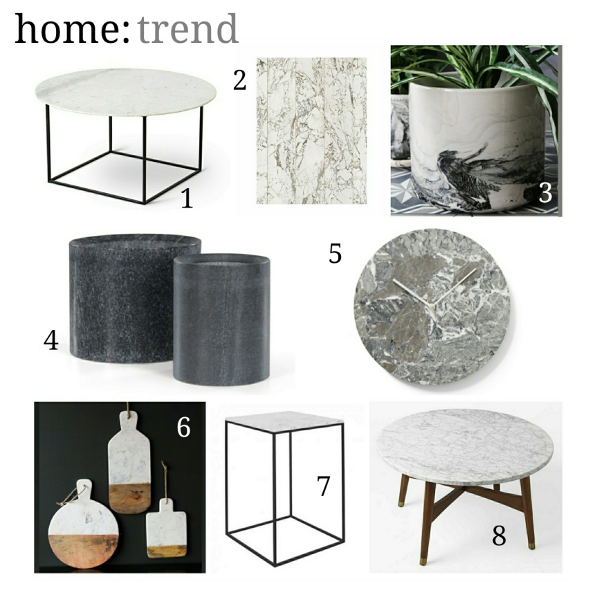 home: trend [ marble ]