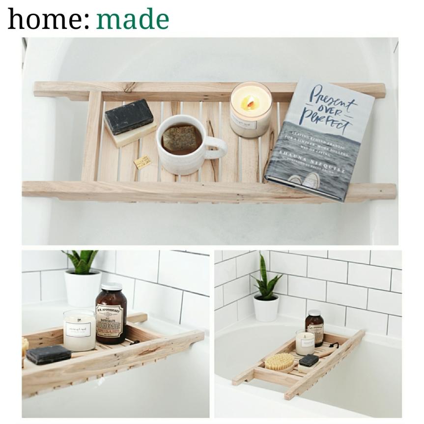 home: made [ bath caddy]
