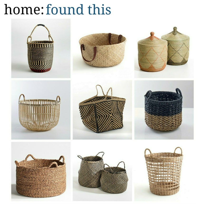 home: found this [ baskets ]