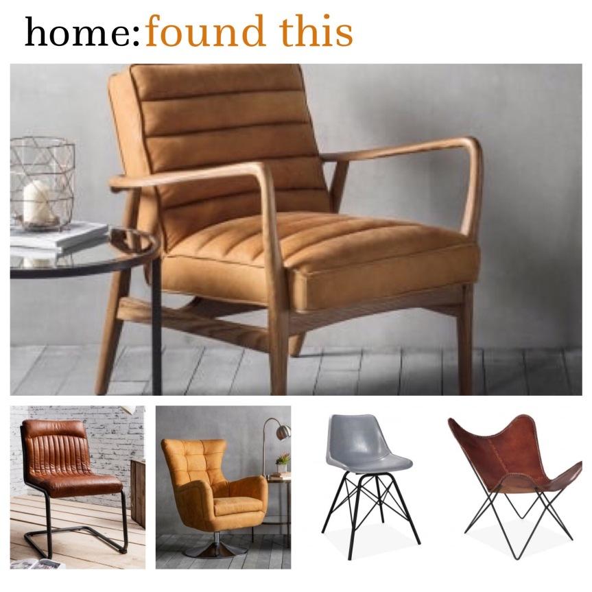home: found this [ leather chairs ]