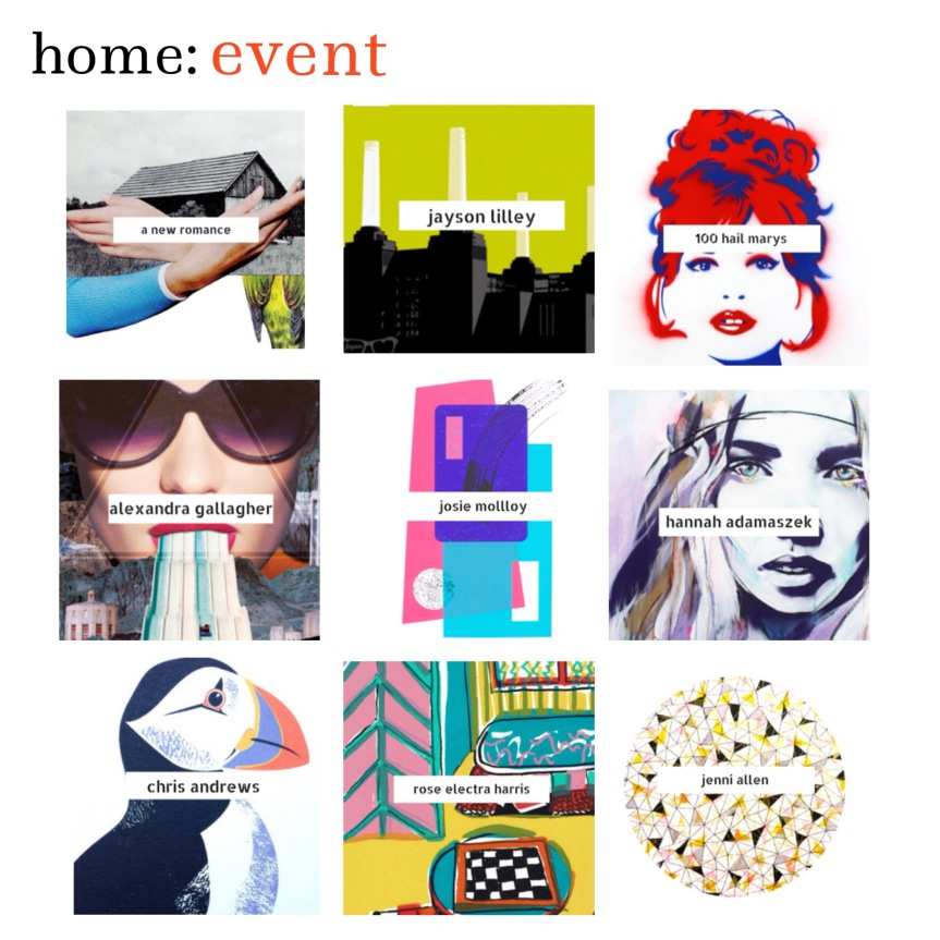 home: event [ Art Snug at West Elm ]