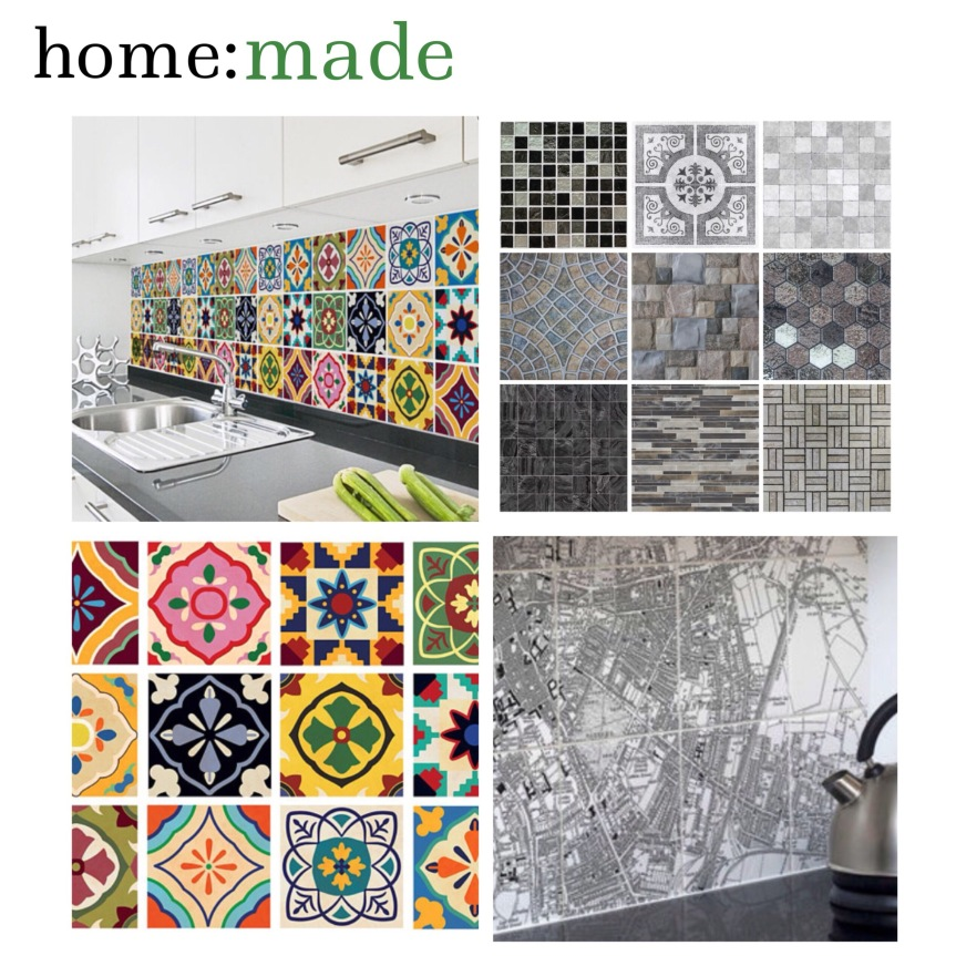 home: made [ tile stickers ]