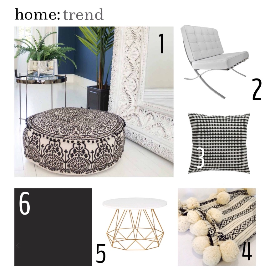 home: trend [ black and white ]