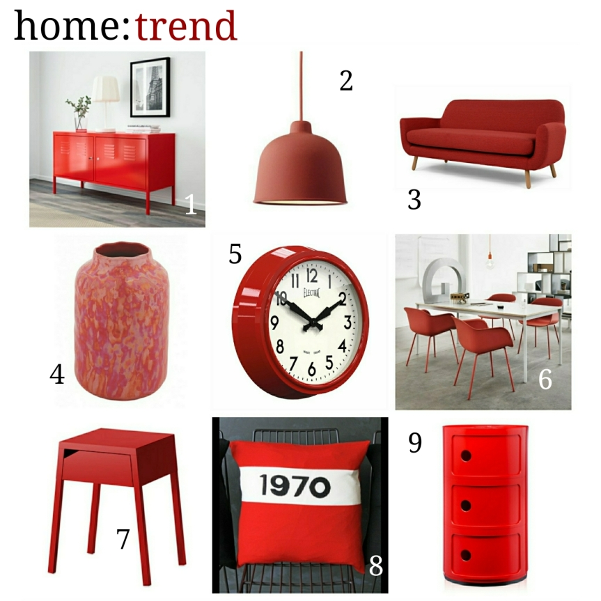 home: trend [ Red]