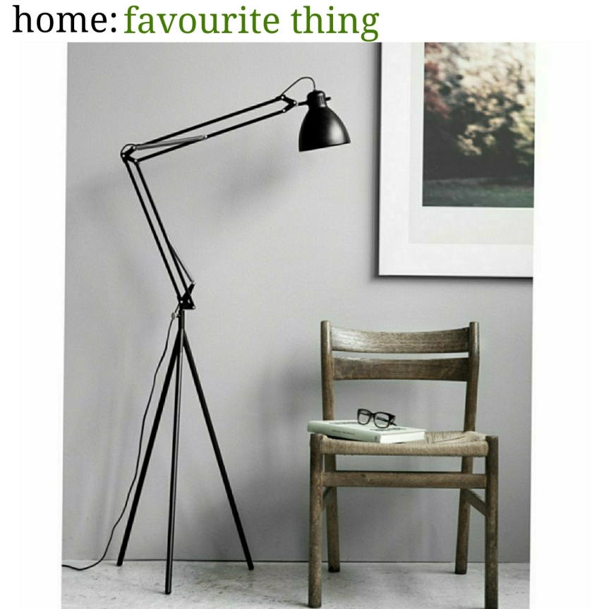 home: favourite thing [ floor lamp]
