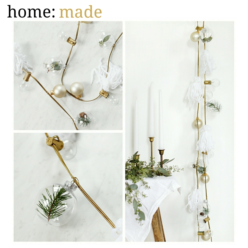 home: made [ light garland ]