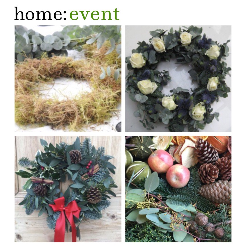 home: event [ wreath making ]