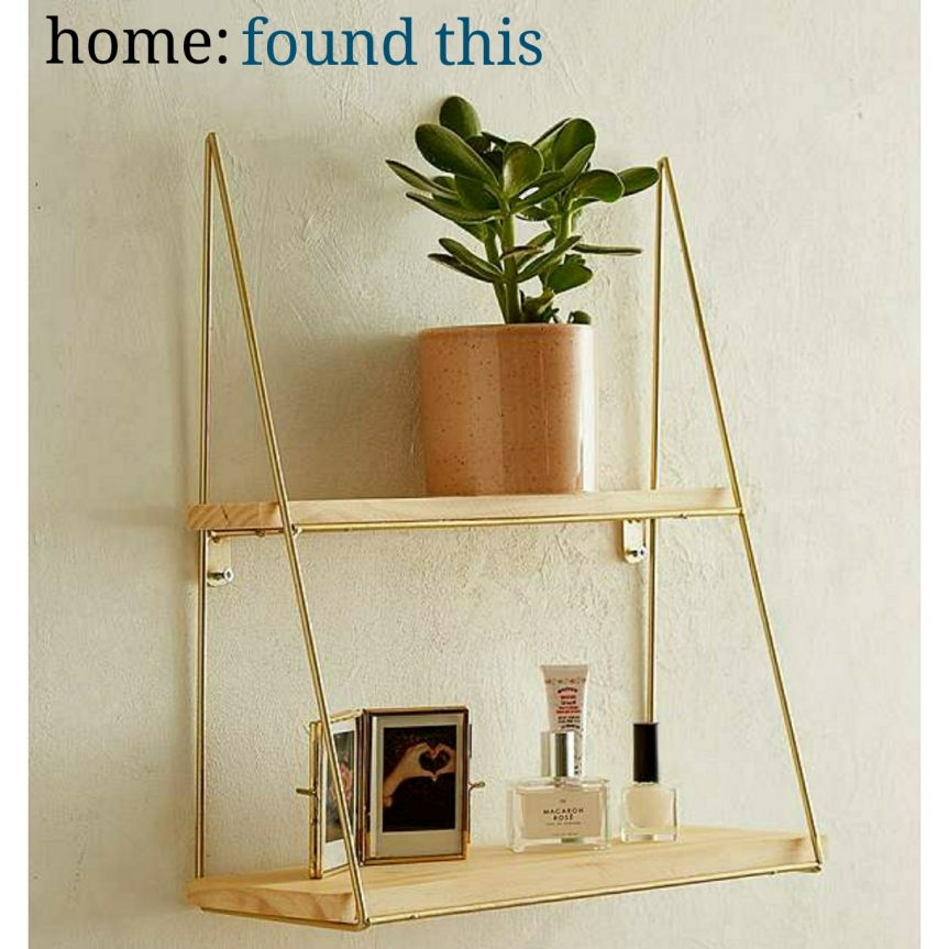 home: found this [ shelf ]