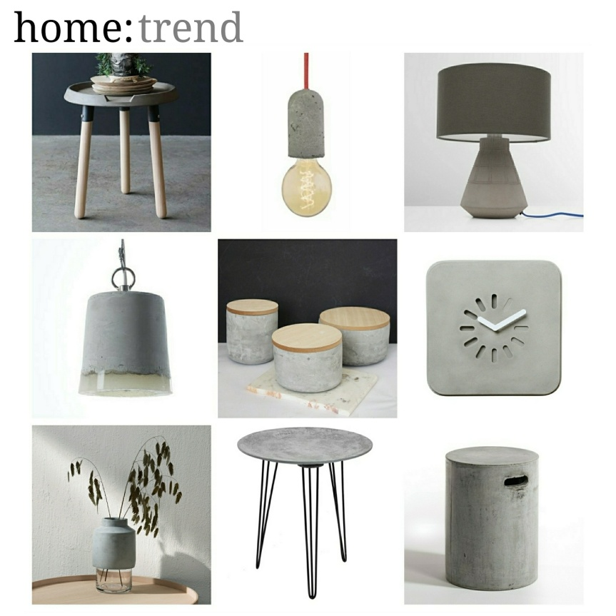 home: trend [ concrete accents ]