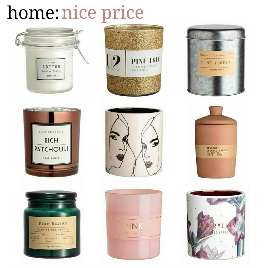 home: nice price [ scented candles ]