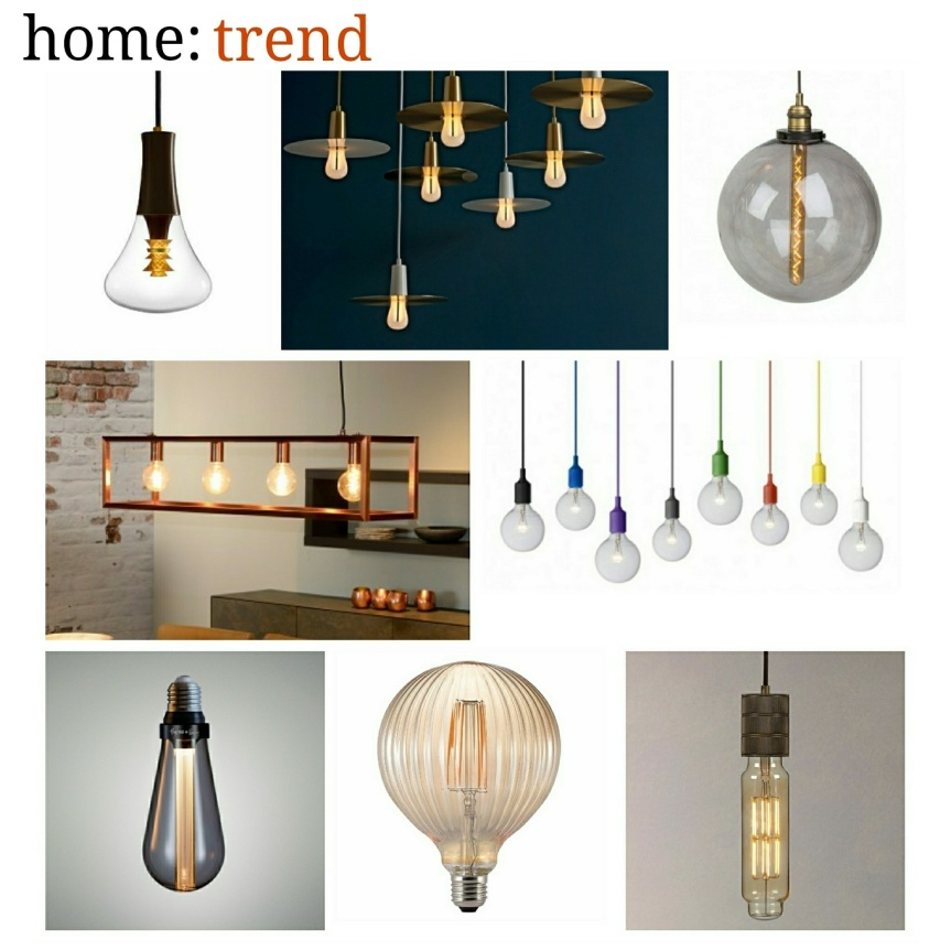 home: trend [ exposed bulbs ]