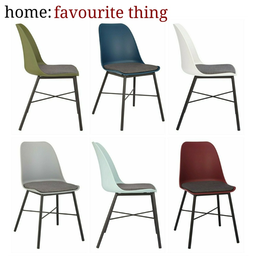 home: favourite thing [ dining chair ]