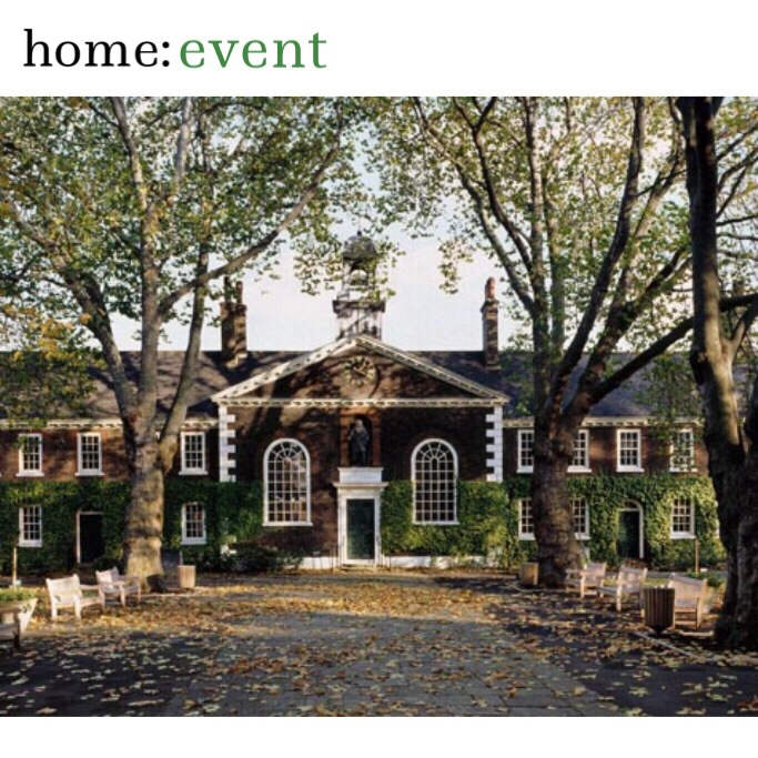 home: event [ Geffrye Museum]