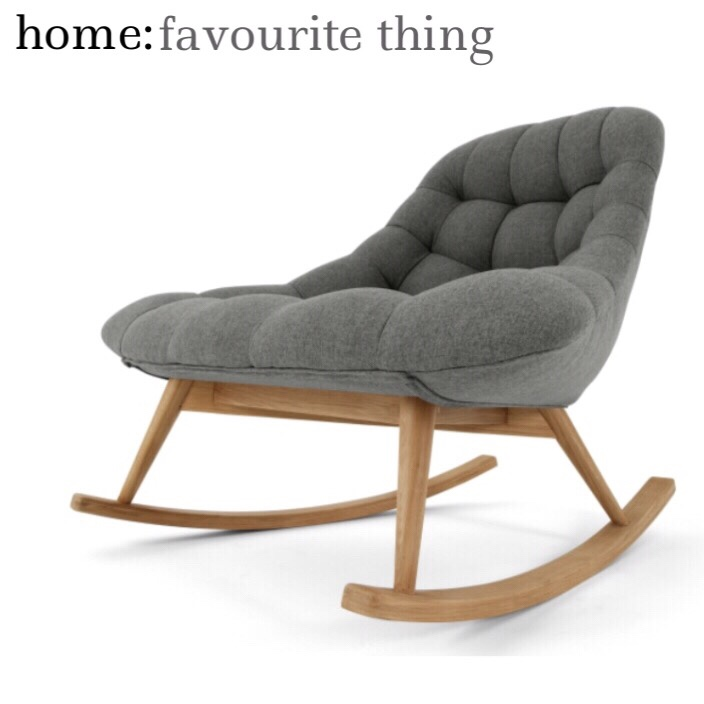 home: favourite thing [ rocking chair]