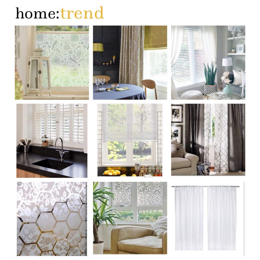 home: trend [ window coverings ]