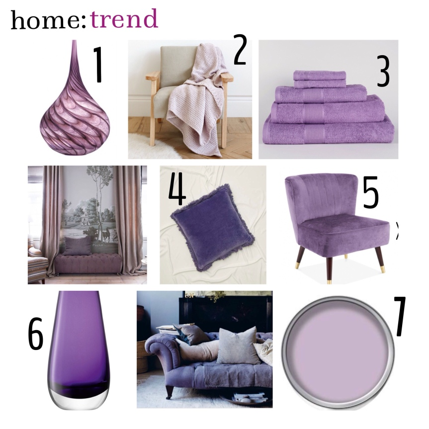 home: trend [ lilac ]