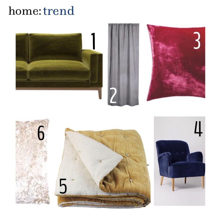 home: trend [ velvet]