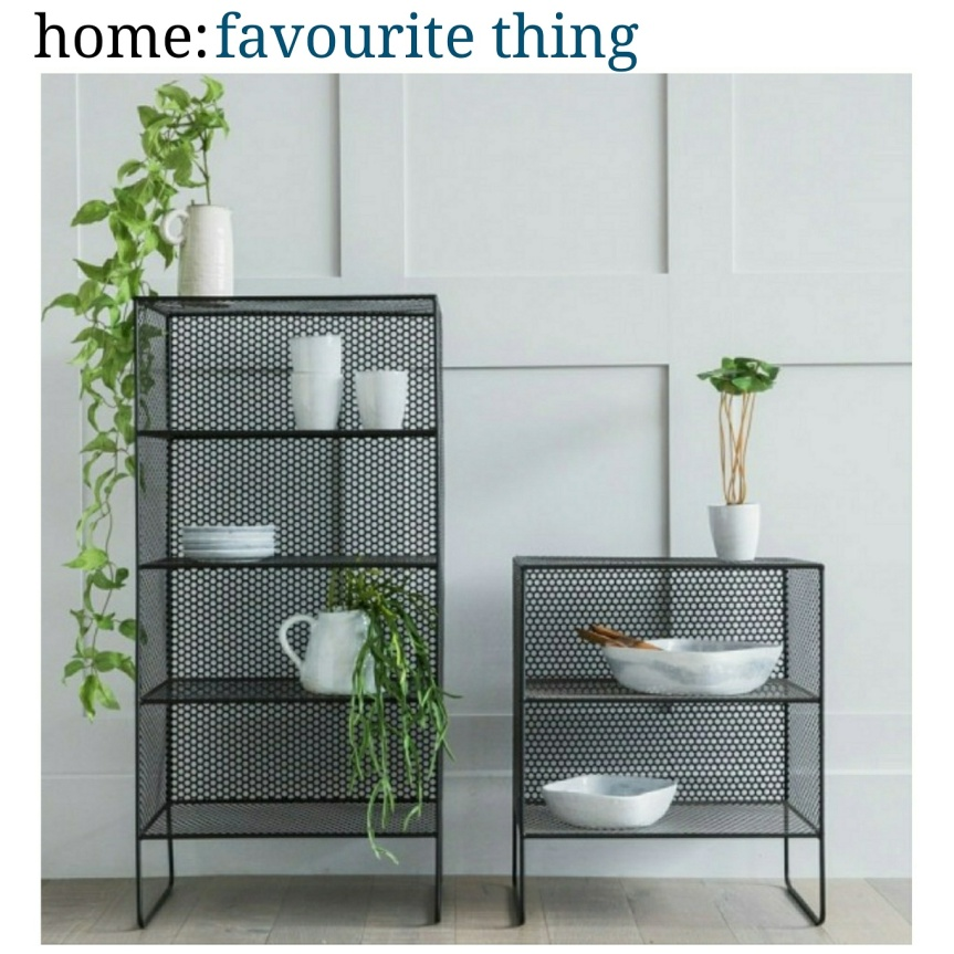 home: favourite thing [ shelving unit ]