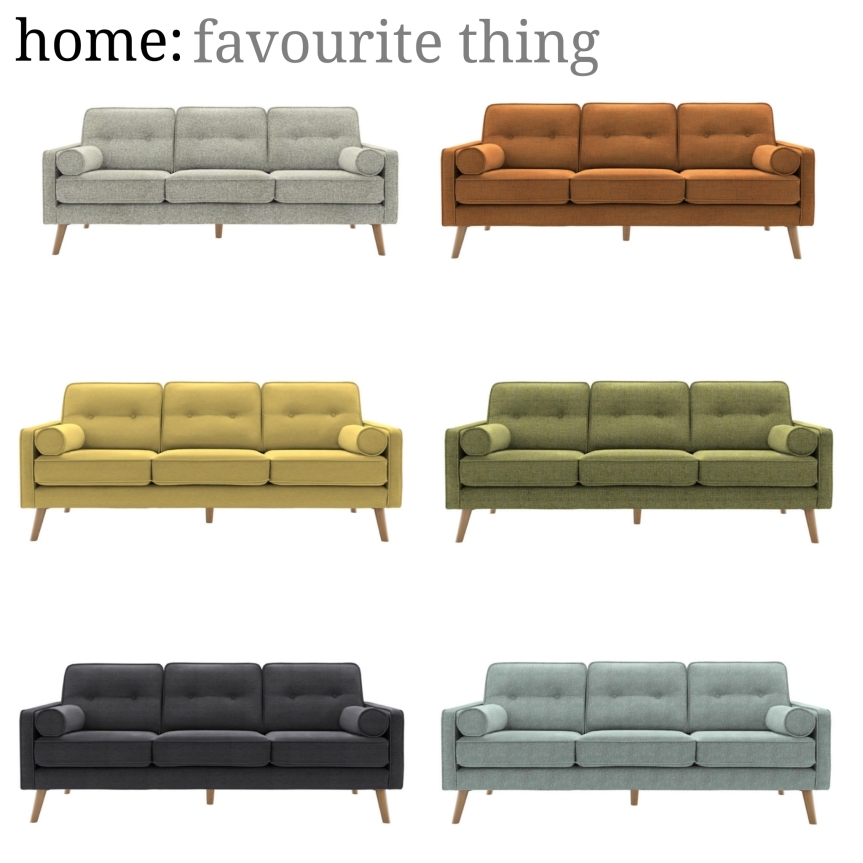 home: favourite thing [ G Plan sofa ]