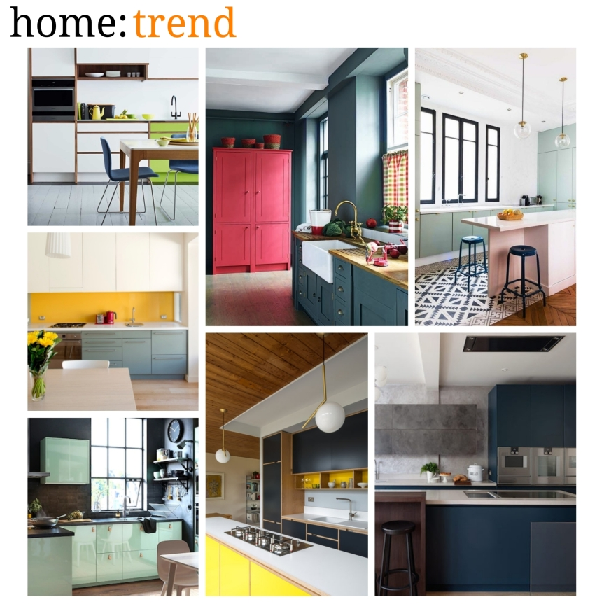 home: trend [ colourful kitchens ]