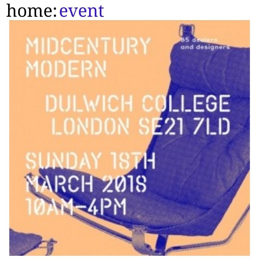 home: event [ Midcentury Modern]