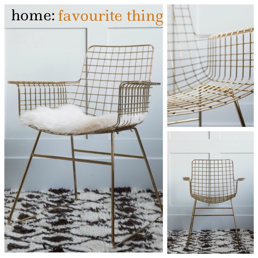 home: favourite thing [ chair]