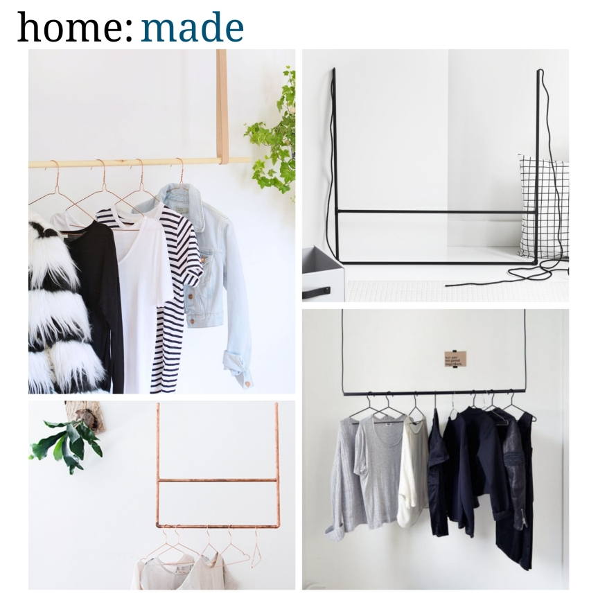 home: made [ clothes rail ]