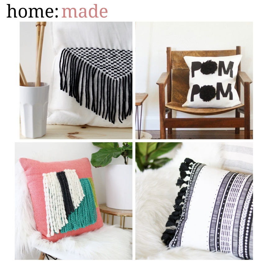home: made [ cushions ]