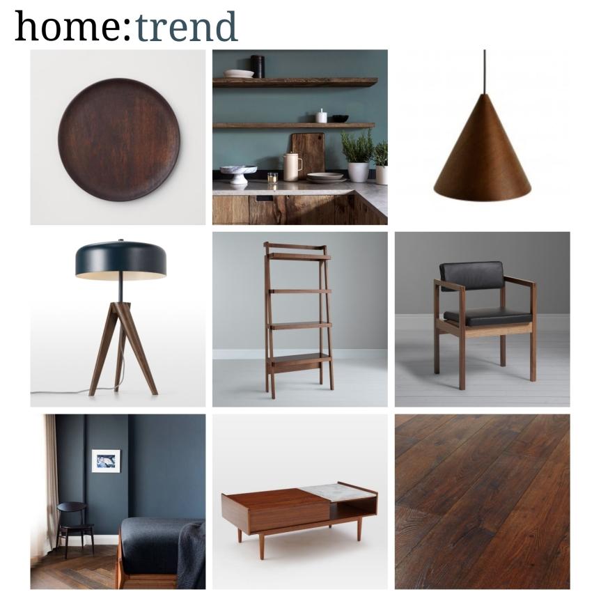 home: trend [ dark woods]