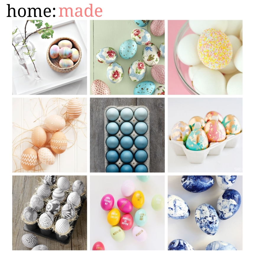 home: made [ Easter eggs ]