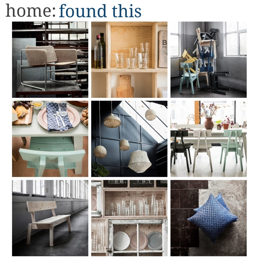 home: found this [ IKEA INDUSTRIELL collection ]