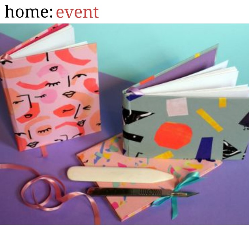 home: event [ bookbinding for beginners ]