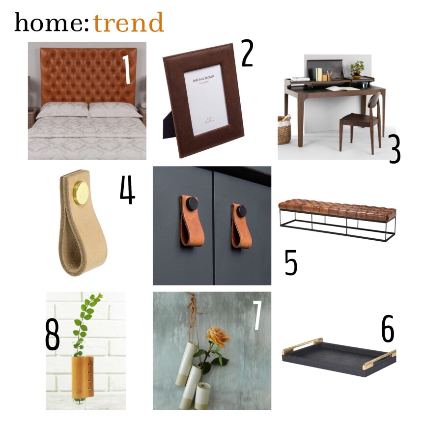 home: trend [ leather ]
