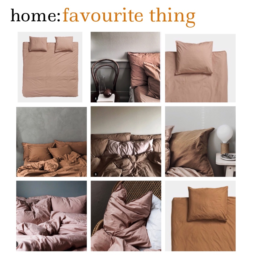 home: favourite thing [ bedding ]