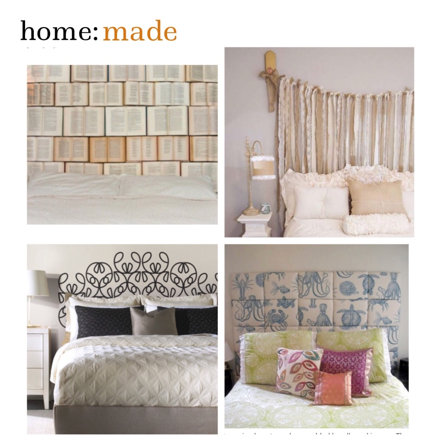 home: made [ head boards ]