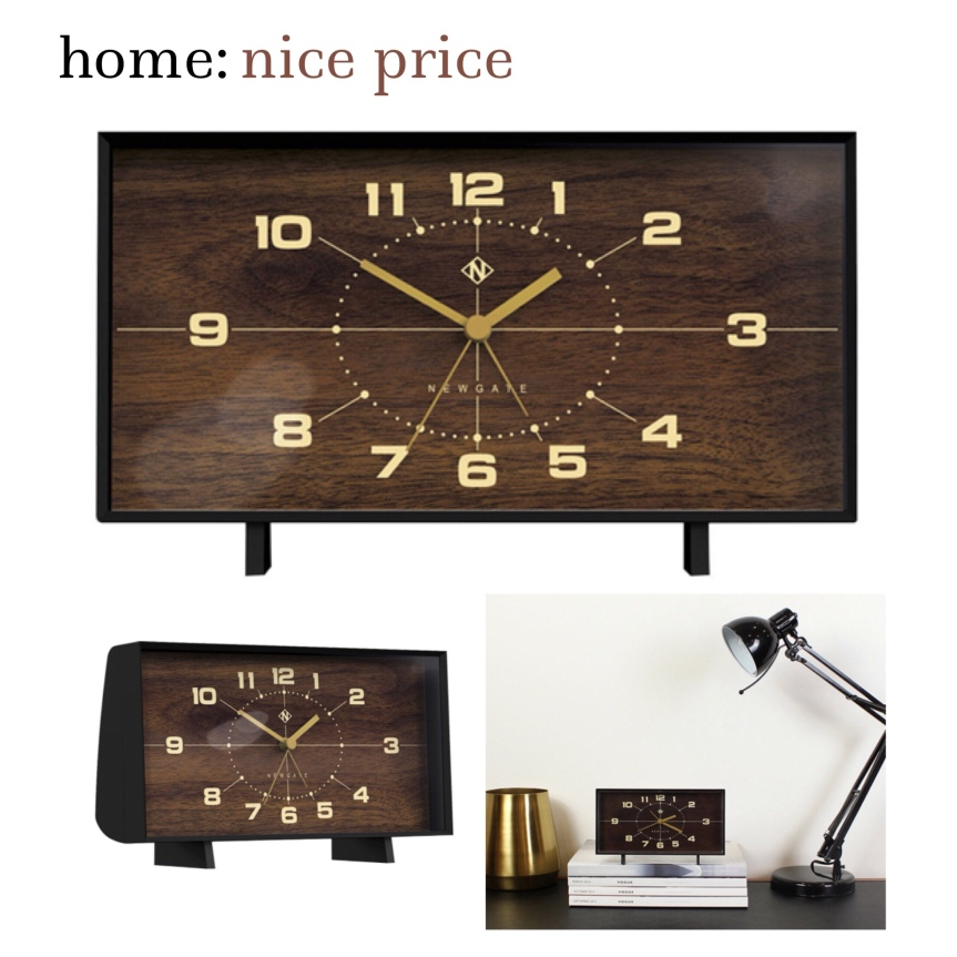 home: nice price [ clock]
