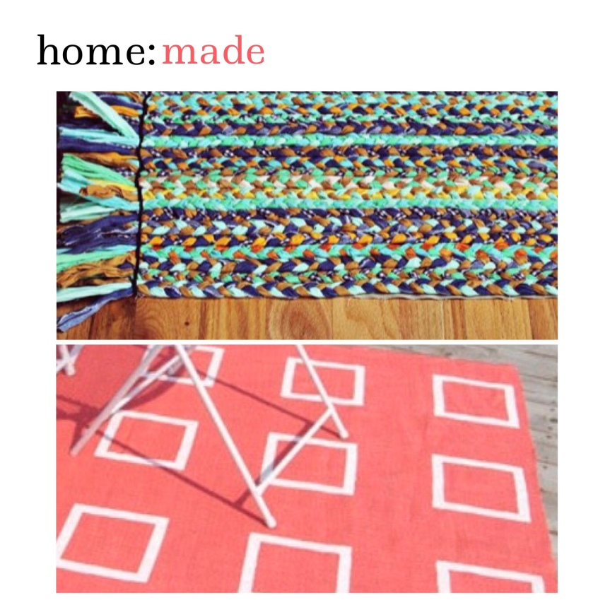 home: made [ outdoor rugs ]