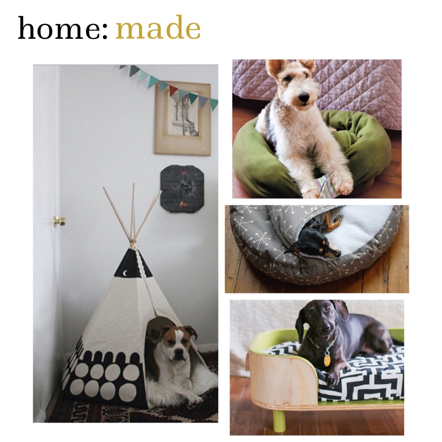 home: made [ dog bed ]