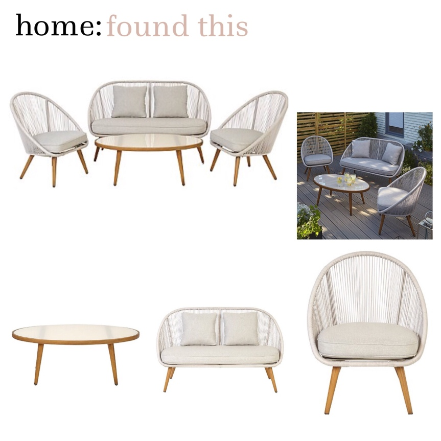 home: found this [ garden furniture ]