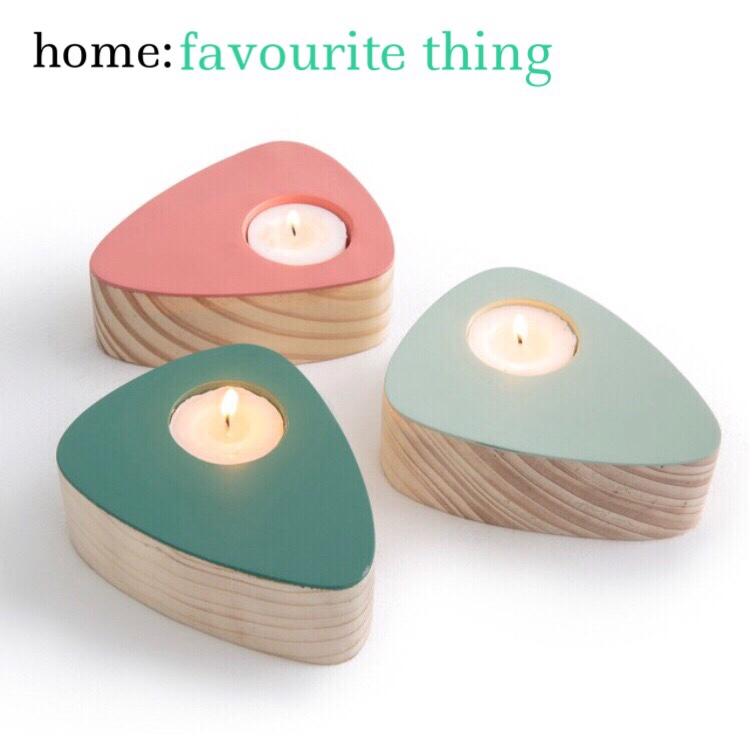 home: favourite thing [ candle holder]