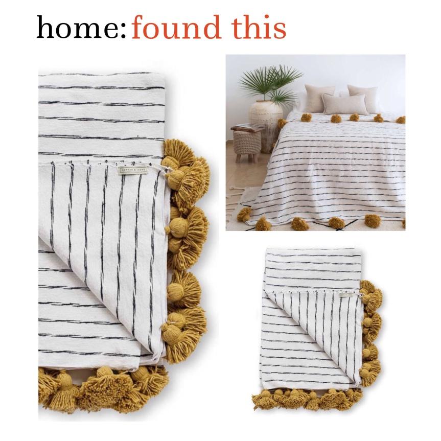 home: found this [ pom pom blanket]