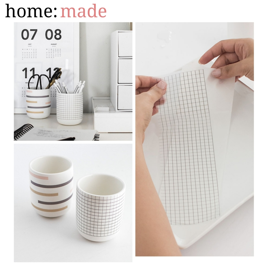 home: made	[ printing on ceramics ]