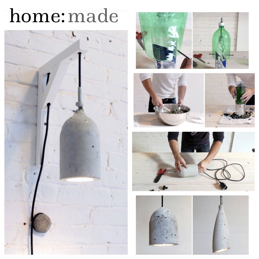 home: made [ concrete lighting ]