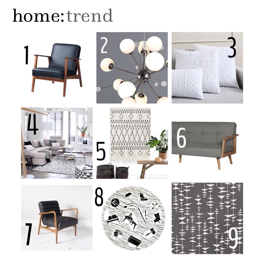 home: trend [ midcentury monochrome]
