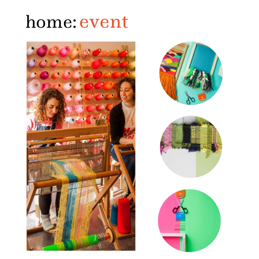 home: event [ weaving workshops ]