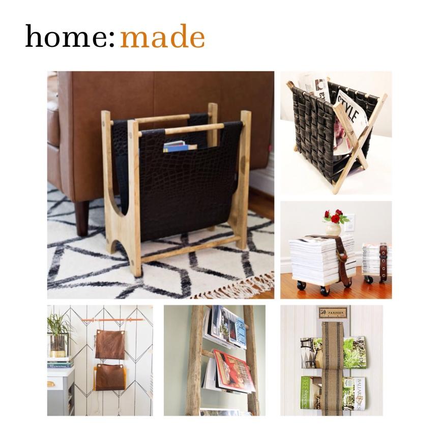home: made [ magazine rack]