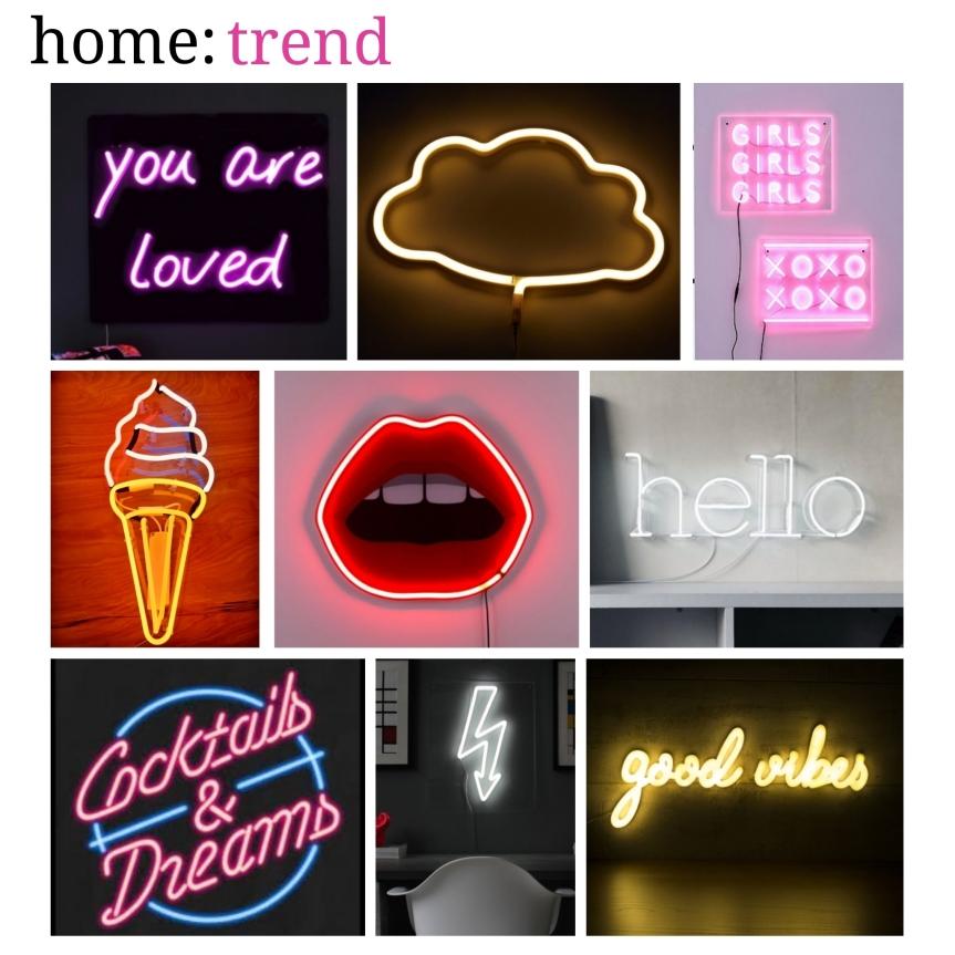 home: trend [ neon lights]