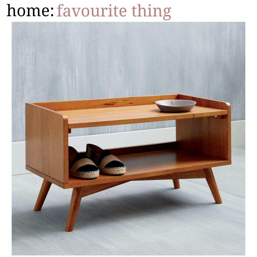 home: favourite thing [ shoe rack ]
