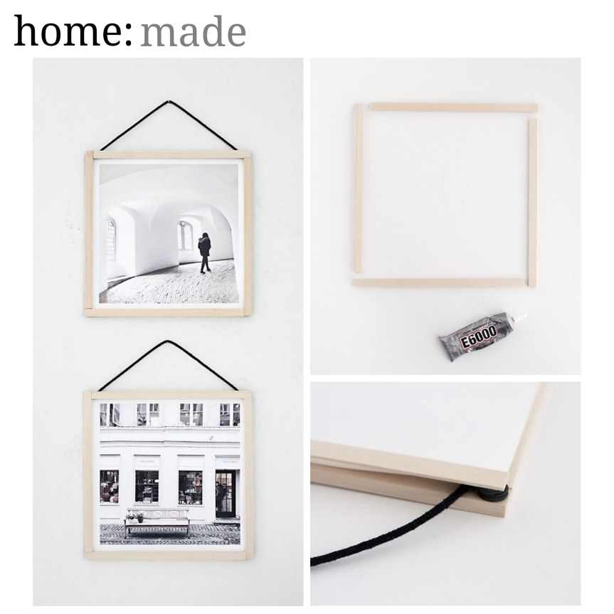 home: made [ picture frame ]