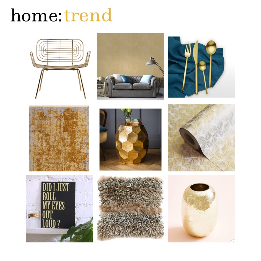 home: trend [ gold]